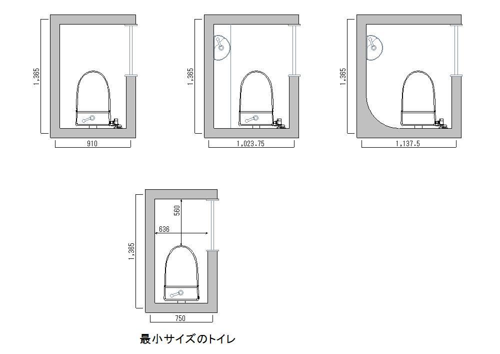 美術館 トイレ 寸法